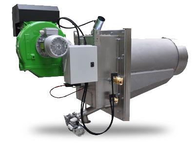 Bruciatore a pellet di legno da 1000 kW ( 1 MW)