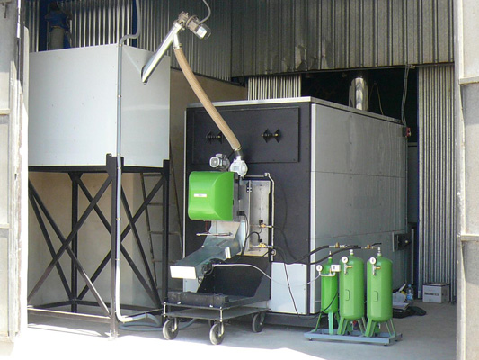 Hot air furnace