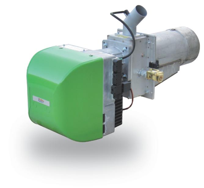 Bruciatore a pellet di legno SPL 200 da 200 kW