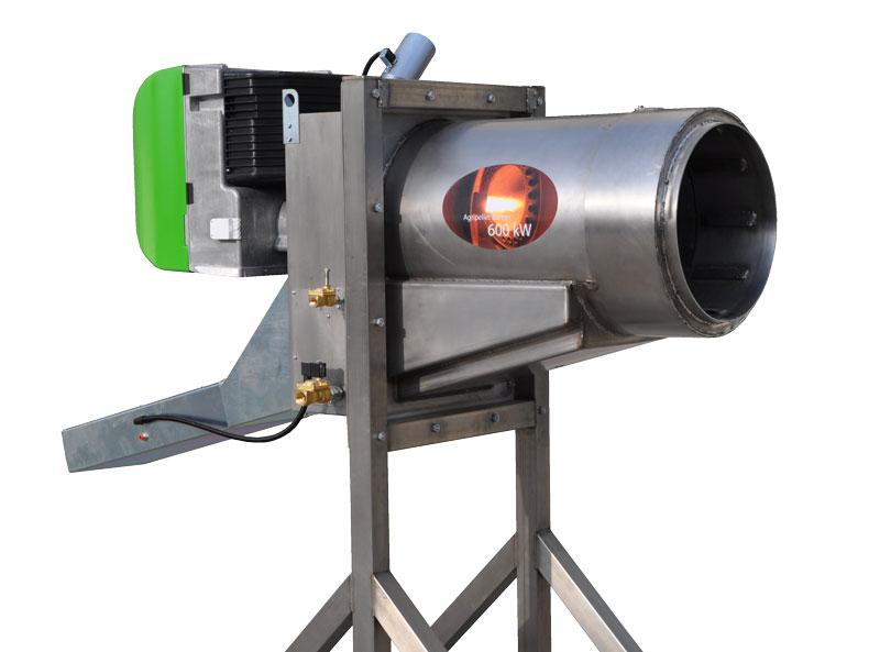 bruciatore ad agripellet da 600 kW - (Foto 1)