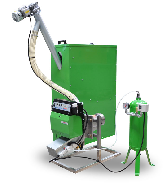 Agripellet burner SPL200A with accessories