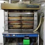 Applicazione su forno da pane di un bruciatore a pellet di legno da 100 kW