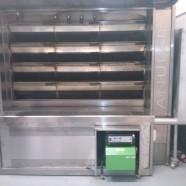 Installazione bruciatori su forni da pane