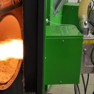 Burners for hot water furnaces