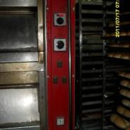 Application sur four de boulangerie d'un bruleur à granulé de bois de 50 kW en Chile