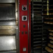 Applicazione su forno da pane di un bruciatore a pellet di legno da 50 kW in Cile