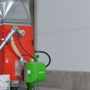 Applicazione bruciatori a pellet su generatori aria calda