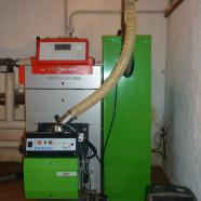 Sostituzione di un bruciatore a gasolio con un bruciatore a pellet da 30 kW