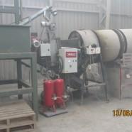 1000 kW applicato su essiccatore rotante in Cile